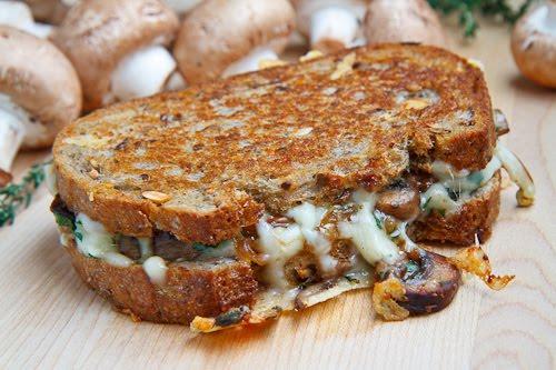 Mushroom Grilled Cheese Sandwich (aka The Mushroom Melt) 500 4434